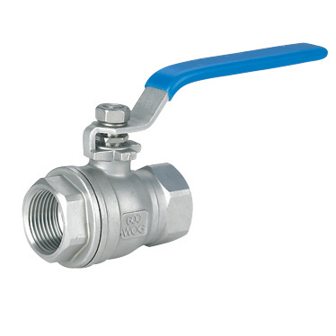 Science and technology two chip internal thread ball valve