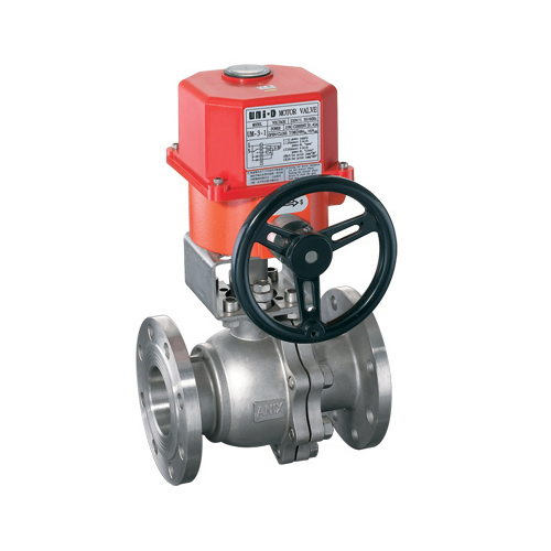 Flange electric ball valve