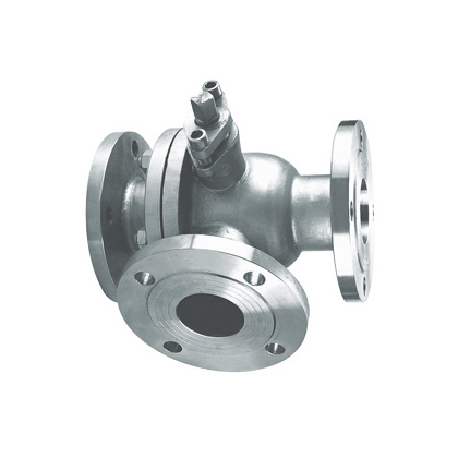 Tee flanged ball valves