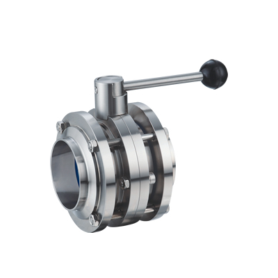 Three type butterfly valve